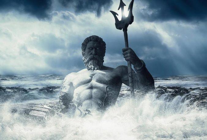 Der Gott des Meeres